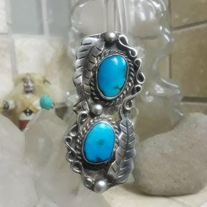 Vtg Sterling Native American Ring
